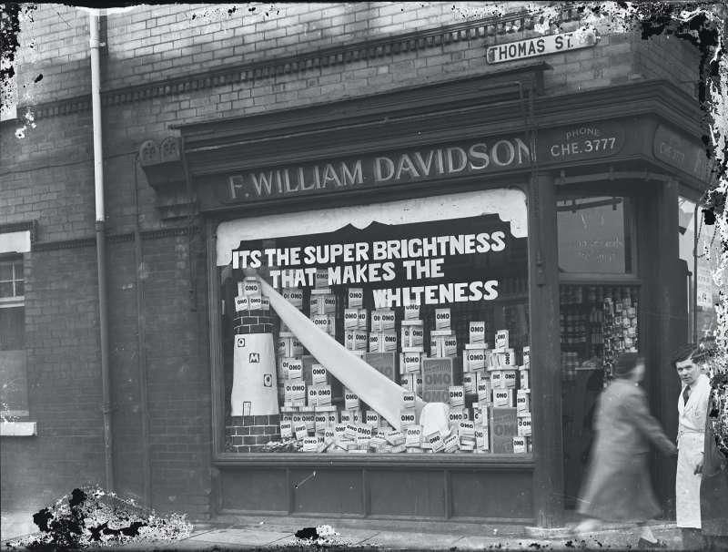 F William Davidsons window