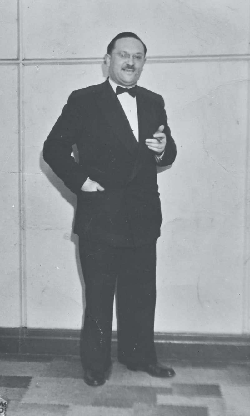 Portrait of man in formal dress