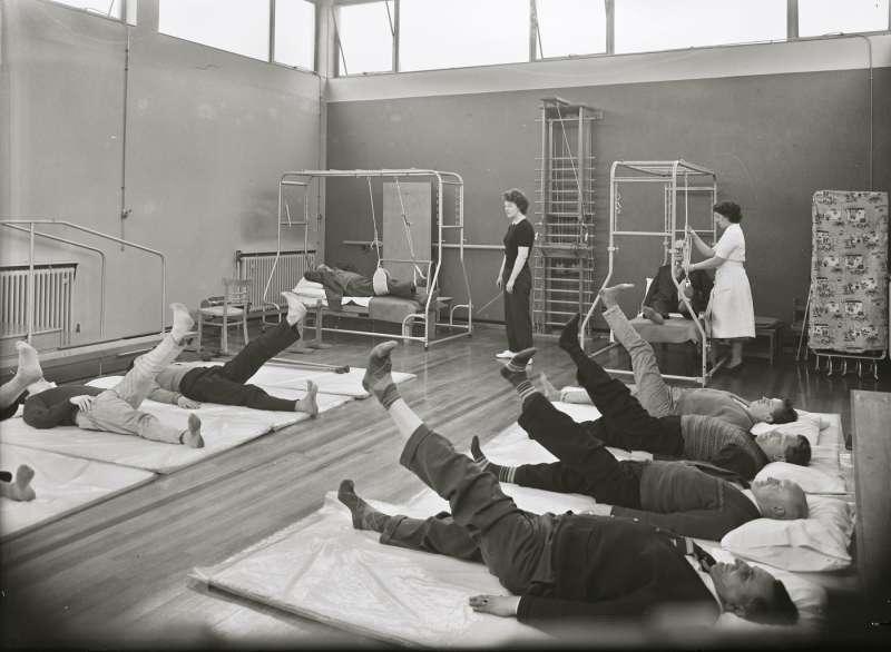 Hospital gym