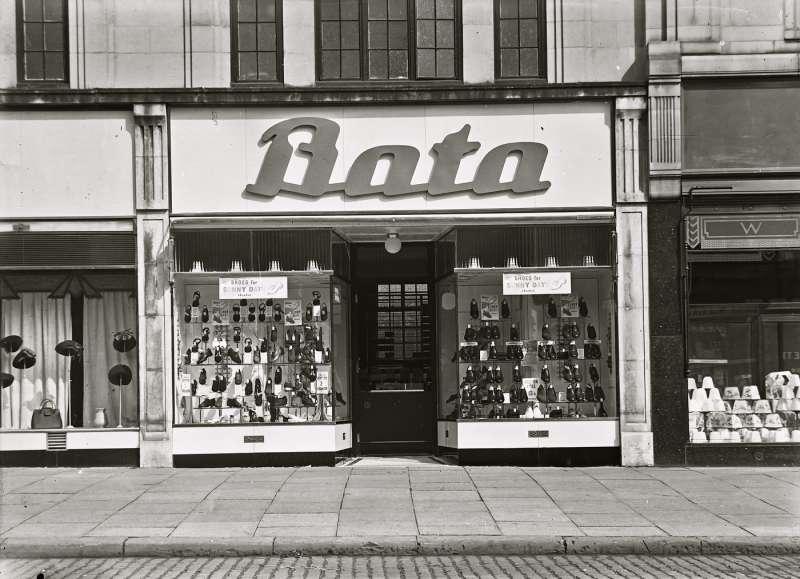 Bata shoe shop front