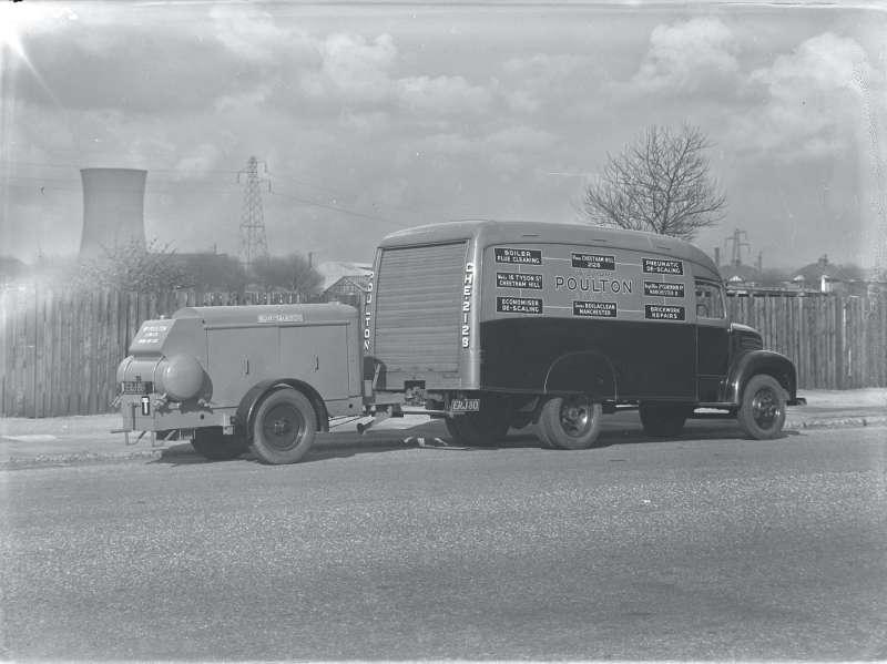 Poulton van and trailer