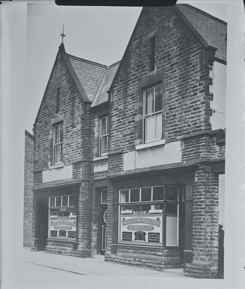 William Poulton & Sons Ltd shopfront