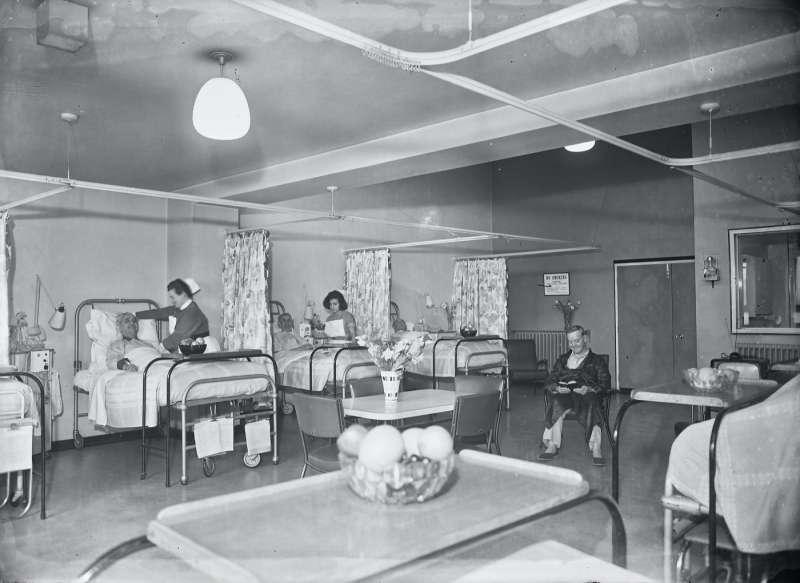 Hospital ward interior