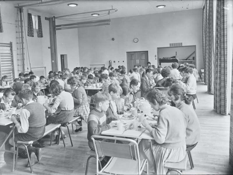 Fernhill School Dining room