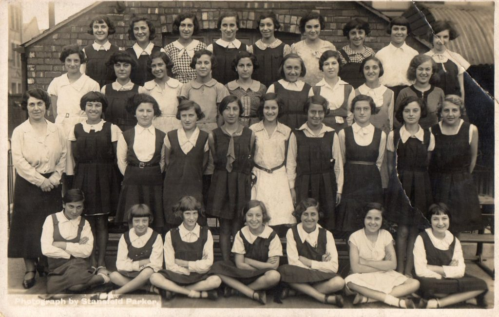 Denise's Mother, 1933, back row, second right. d smallman